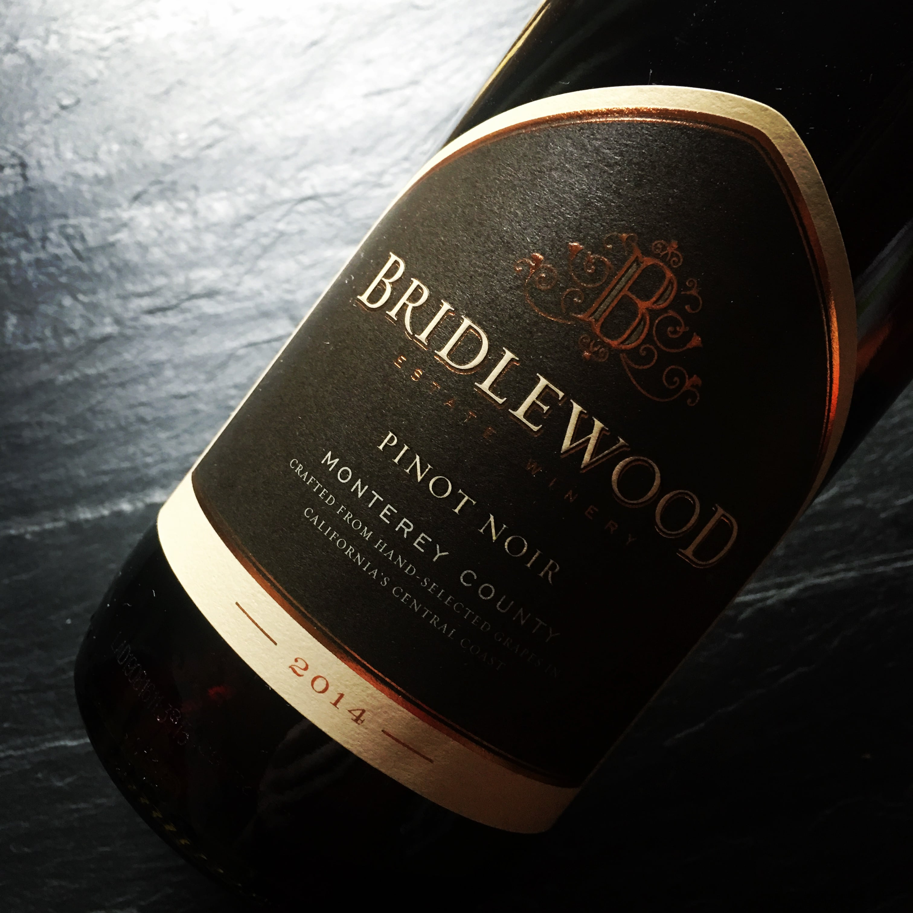 Bridlewood Monterey County Pinot Noir 2014