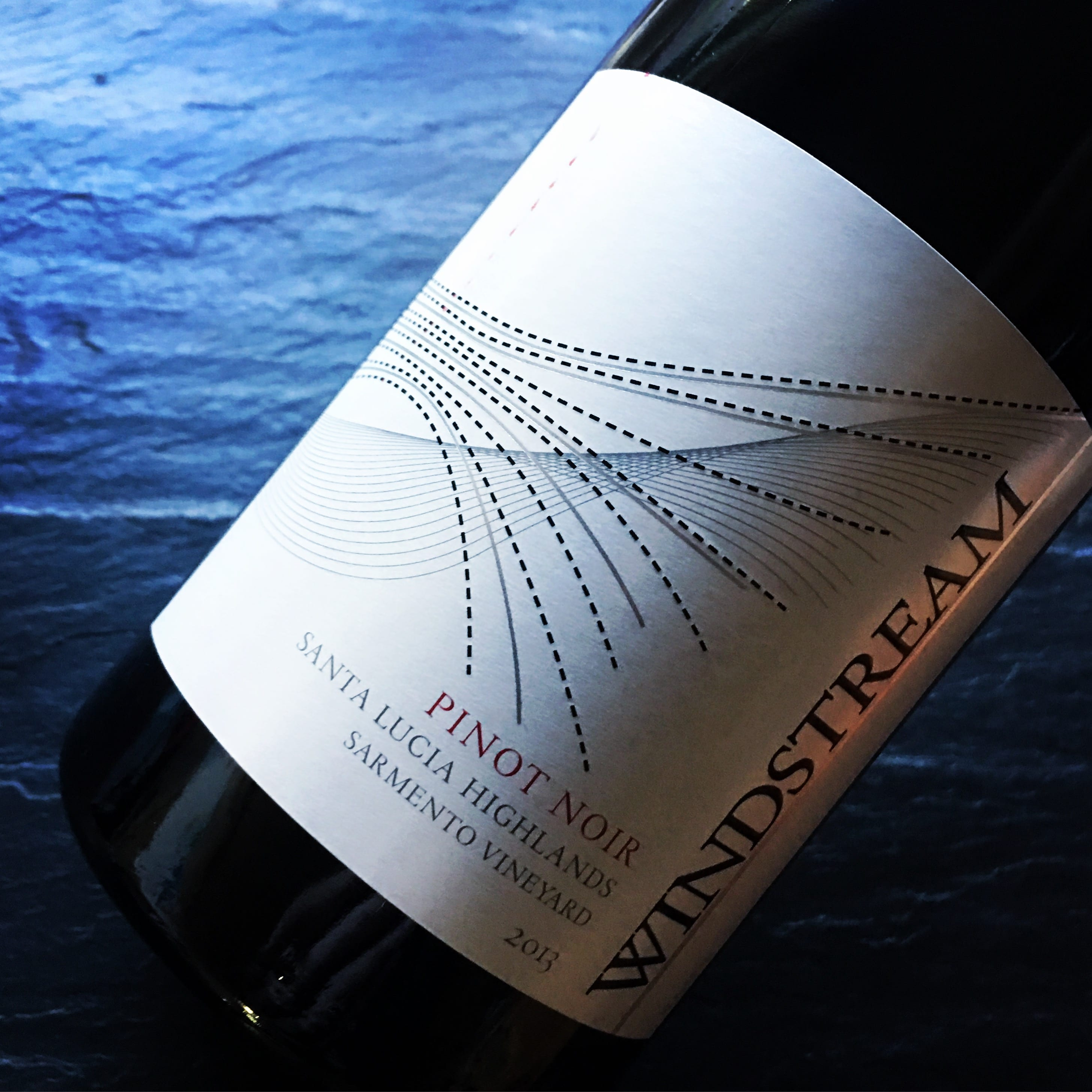 Windstream Sarmento Vineyard Santa Lucia Highlands Pinot Noir 2013