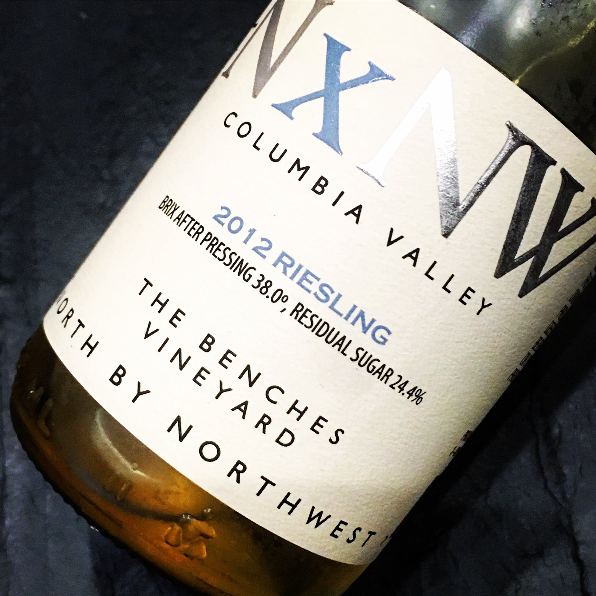 NxNW Riesling The Benches Vineyard 2012