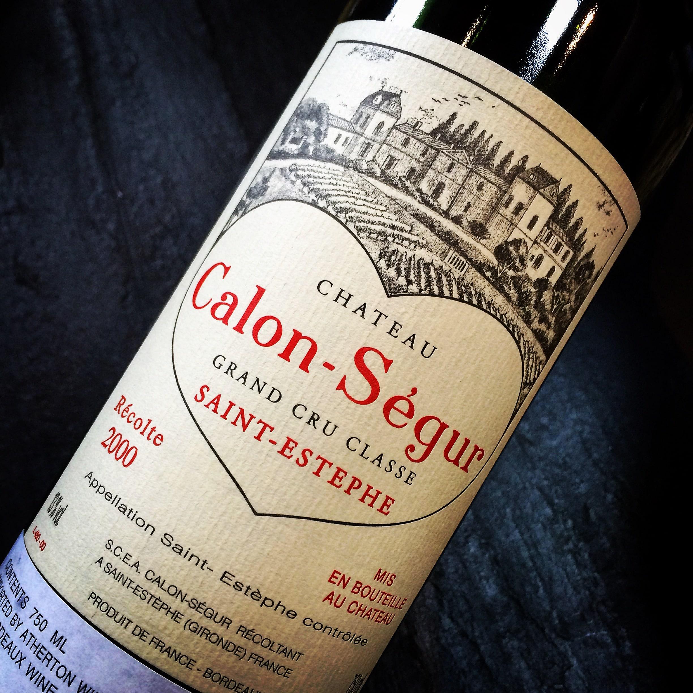 Château Calon-Ségur Saint-Estèphe Grand Cru Classé 2000