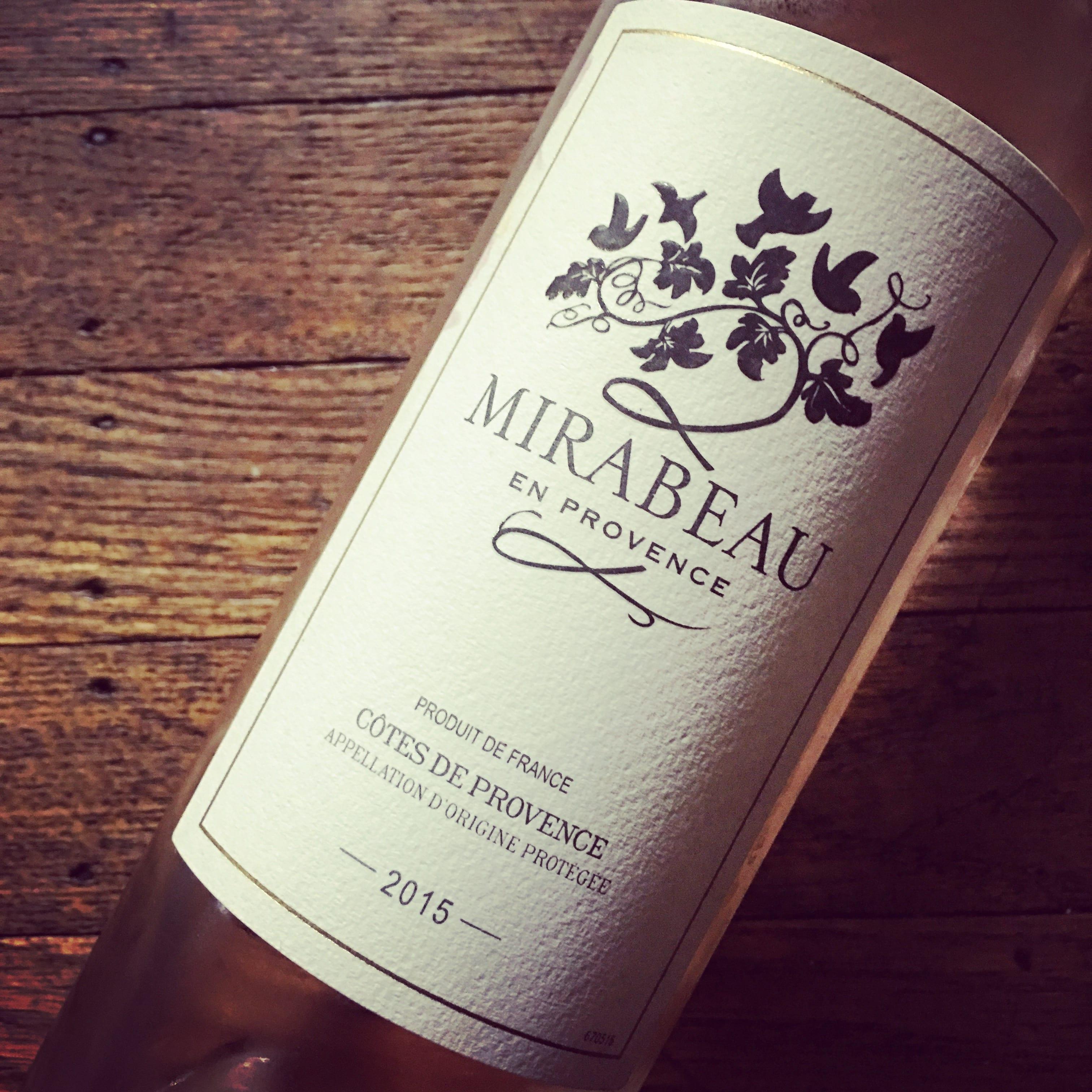 Mirabeau Côtes de Provence Rosé 2015