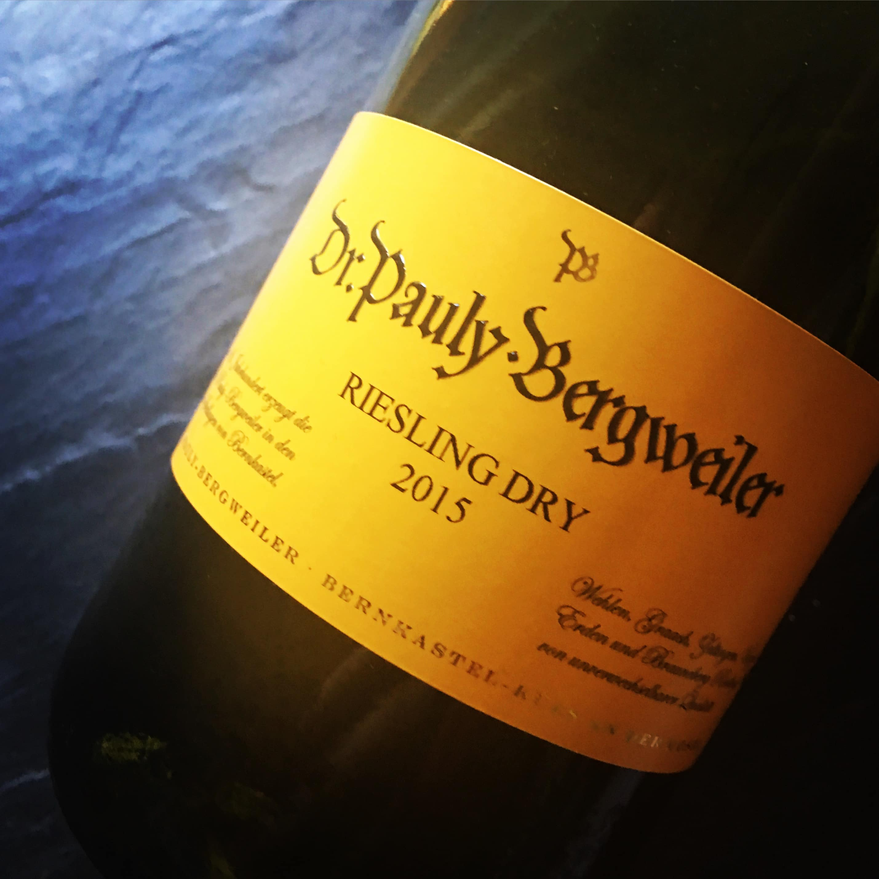 Weingut Dr.Pauly-Bergweiler Dry Riesling 2015