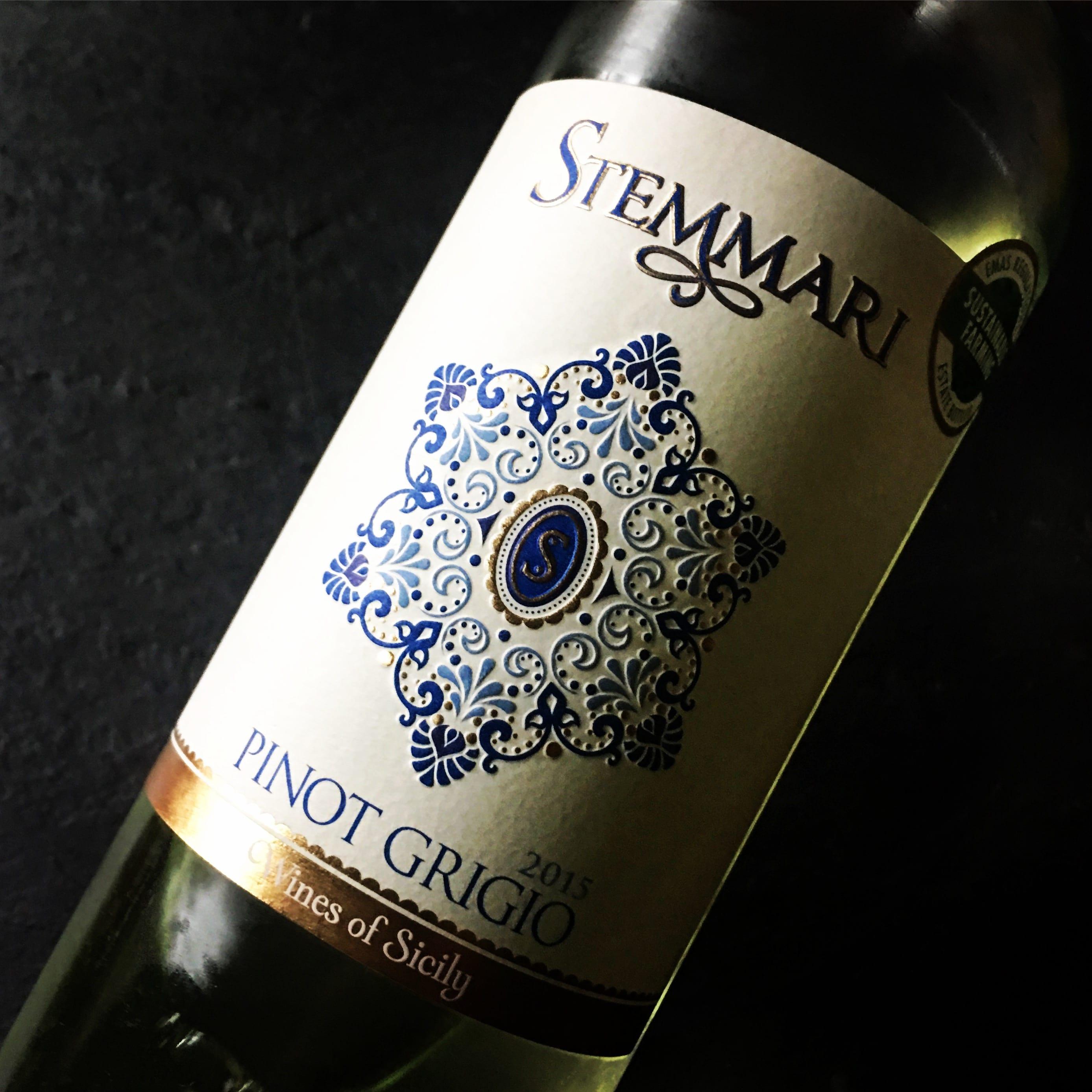 Feudo Arancio Pinot Grigio Sicilia Stemmari 2014
