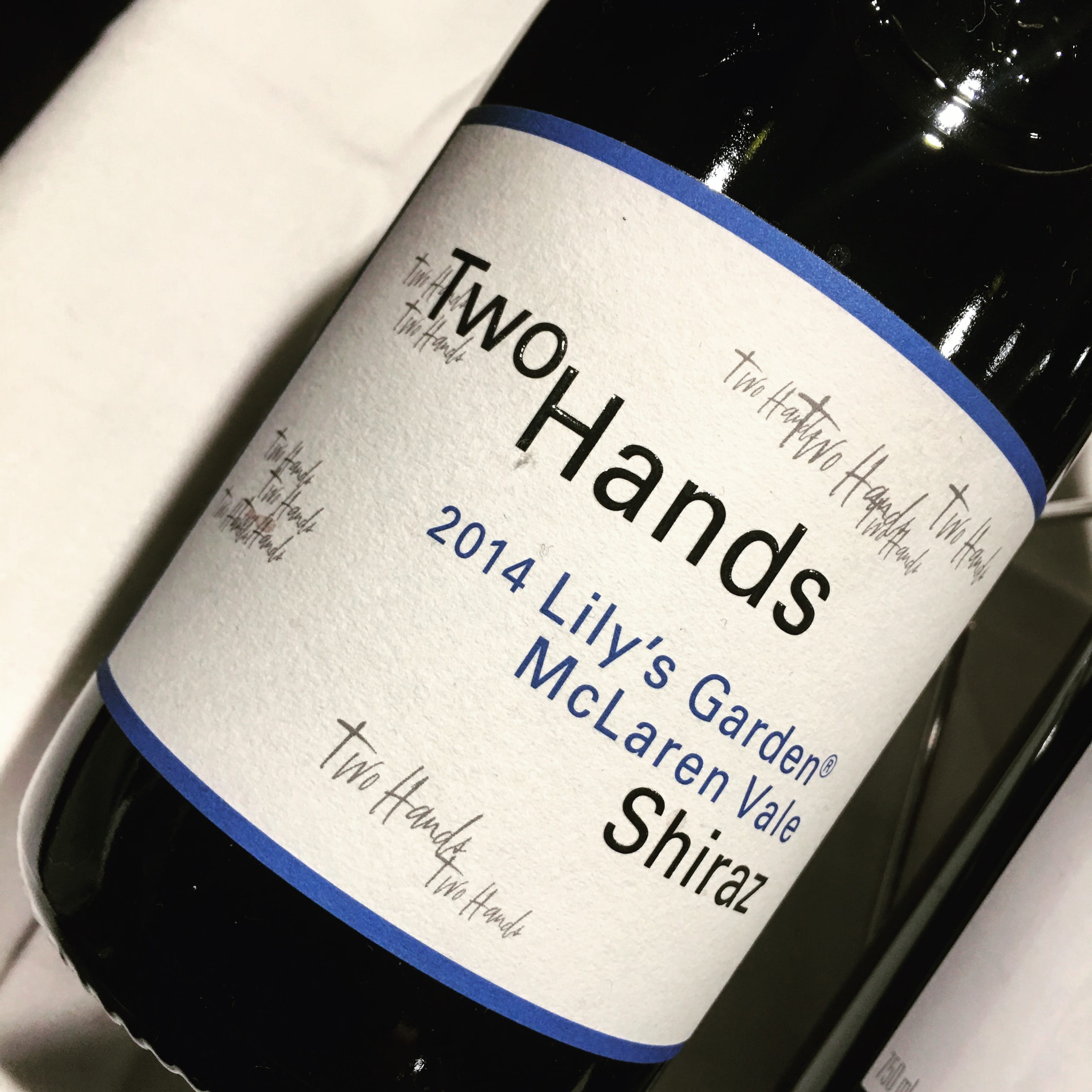 Two Hands Lily's Garden Shiraz 2014