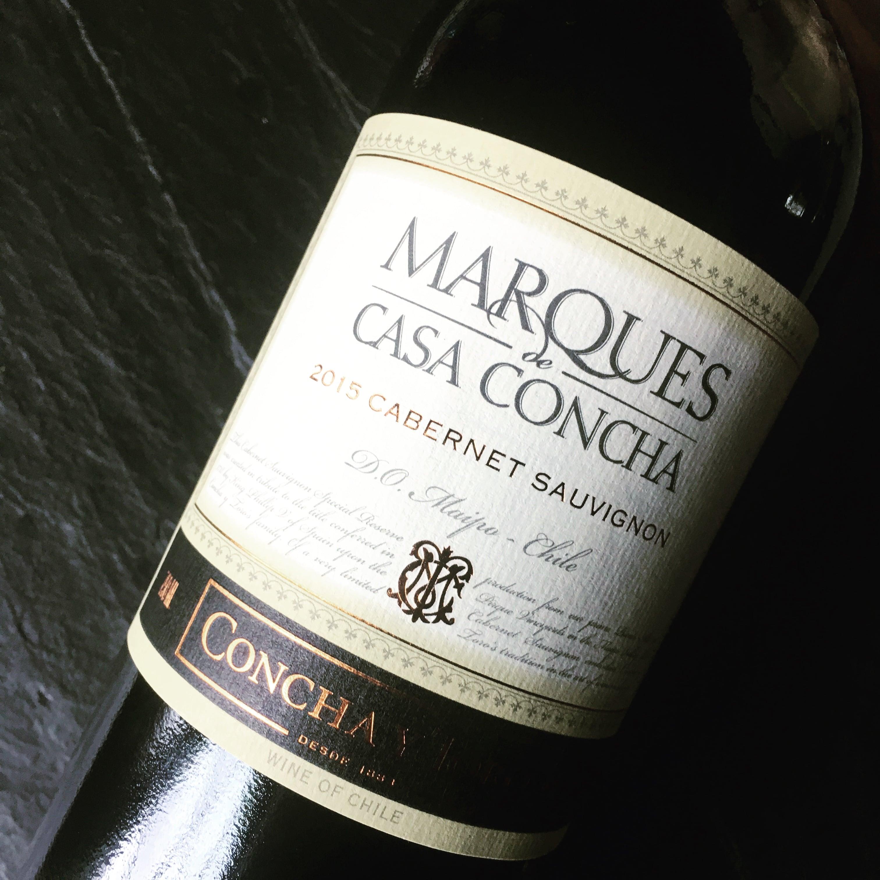 Concha y Toro Cabernet Sauvignon Marqués de Casa Concha 2015