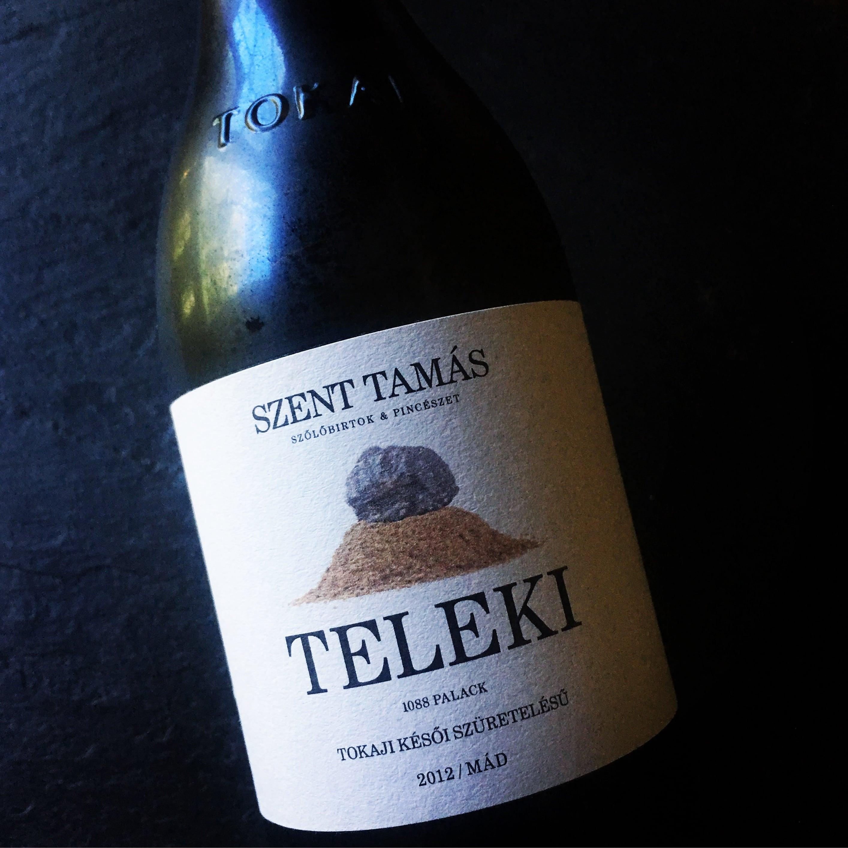 Szent Tamás Teleki Palack Tokaji Késői Szüretelésű 2012