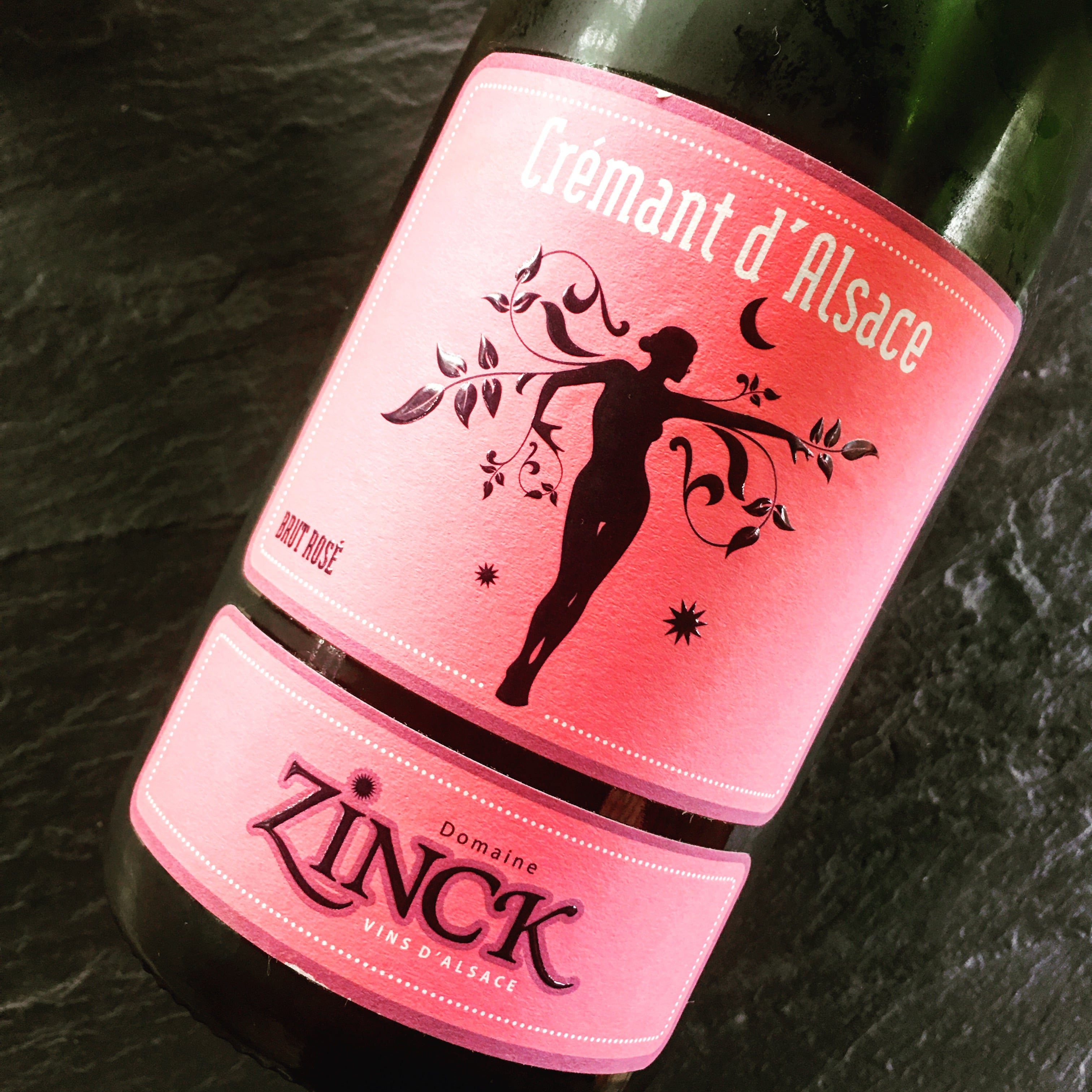 Paul & Phillippe Zinck Crémant d'Alsace Brut Rosé NV
