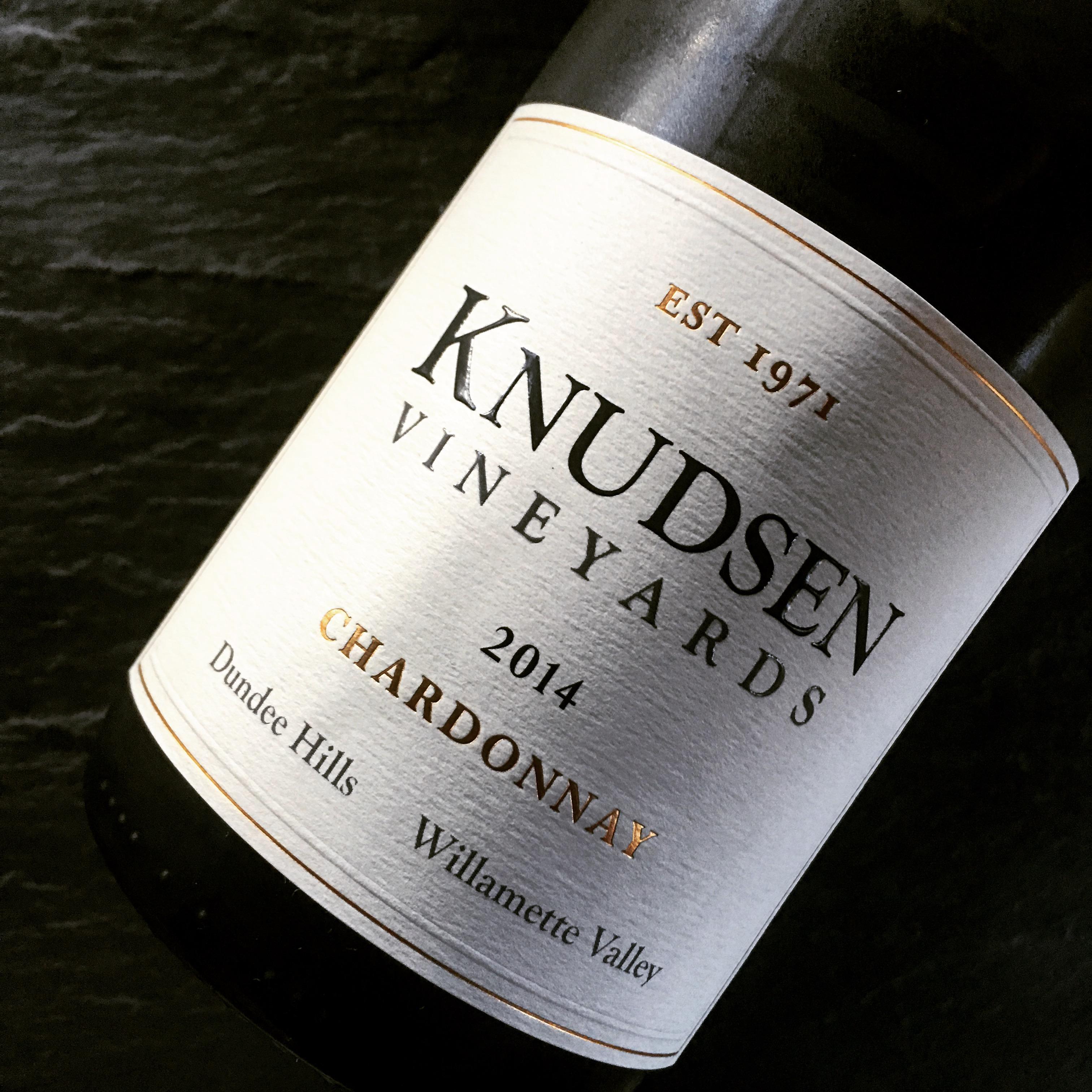 Knudsen Vineyards Dundee Hills Chardonnay 2014
