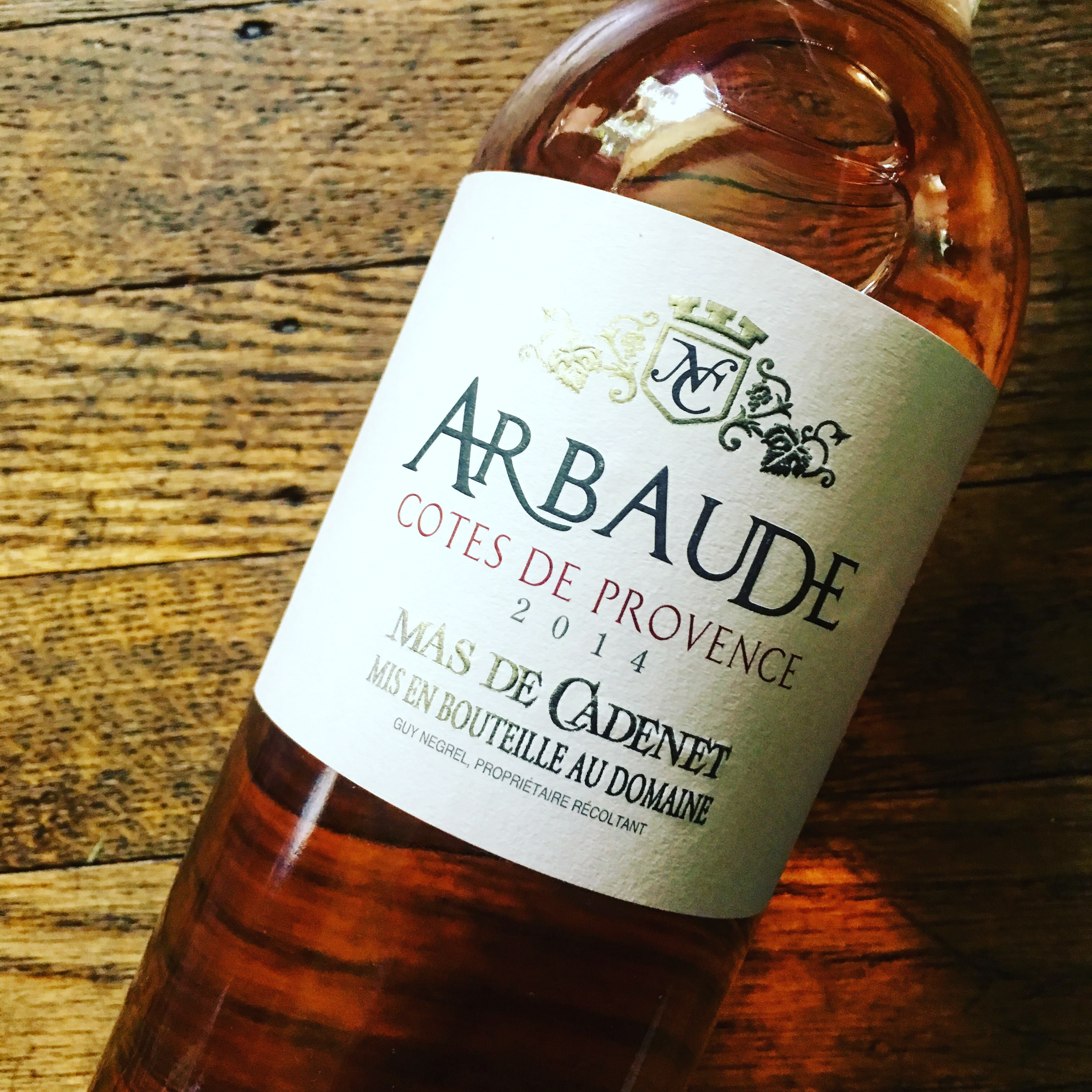 Mas De Cadenet Arbaude Côtes De Provence Rosé 2014