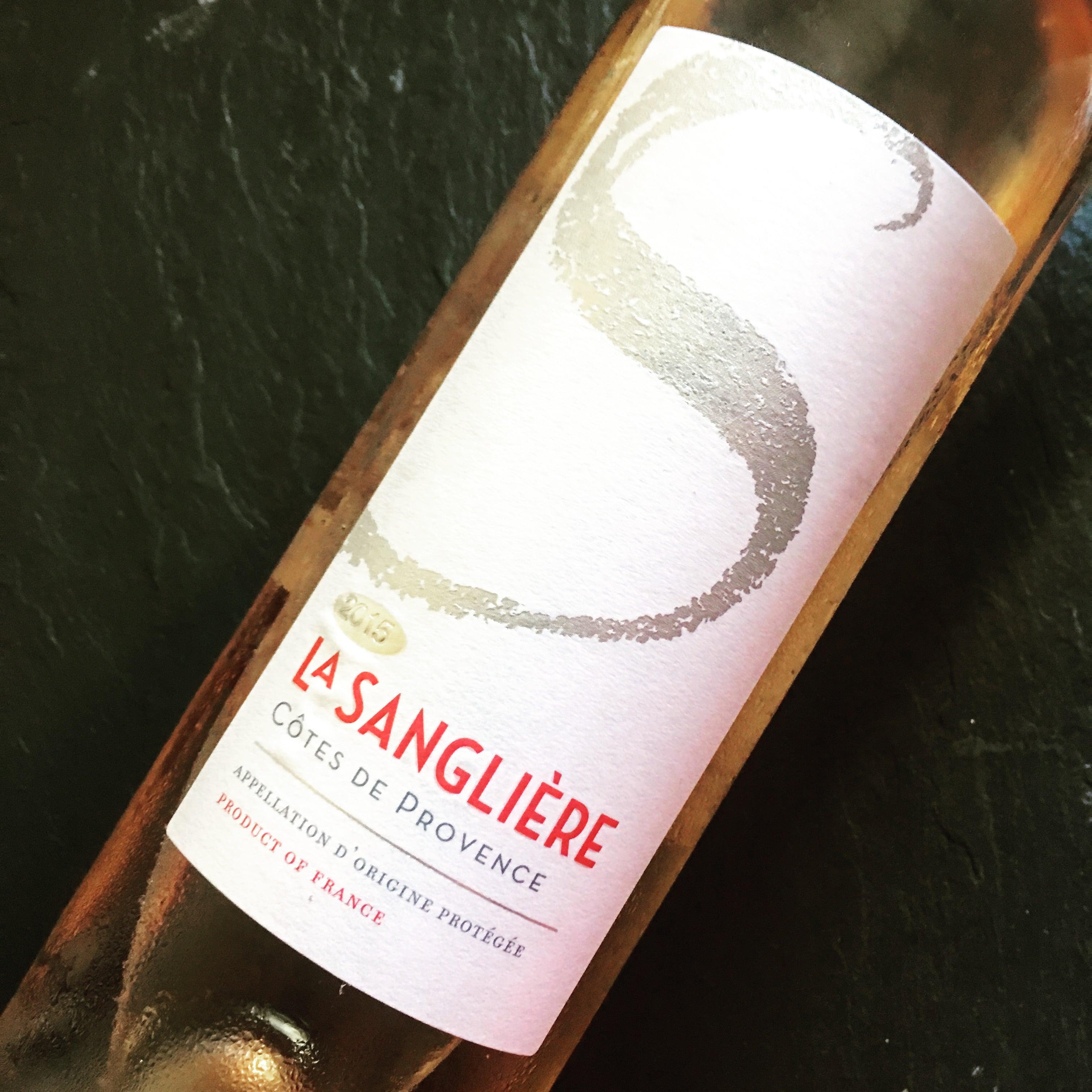 Domaine de la Sangliere Côtes De Provence Rosé 2015