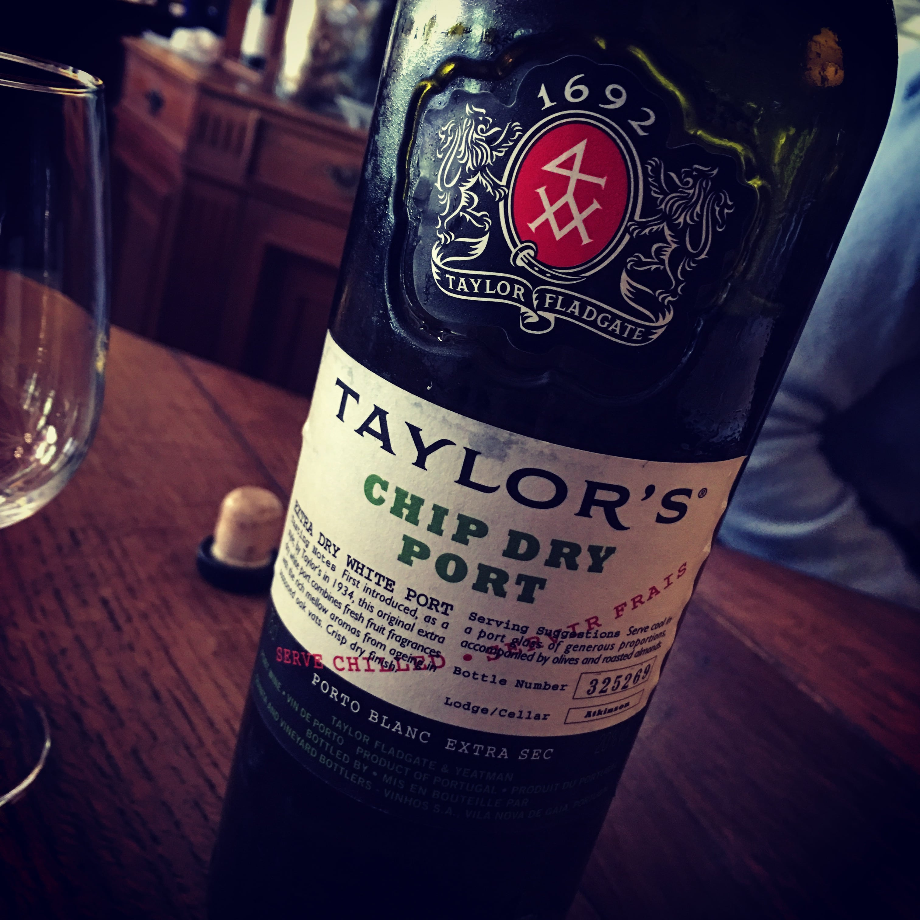 Taylor's Chip Dry White Port NV