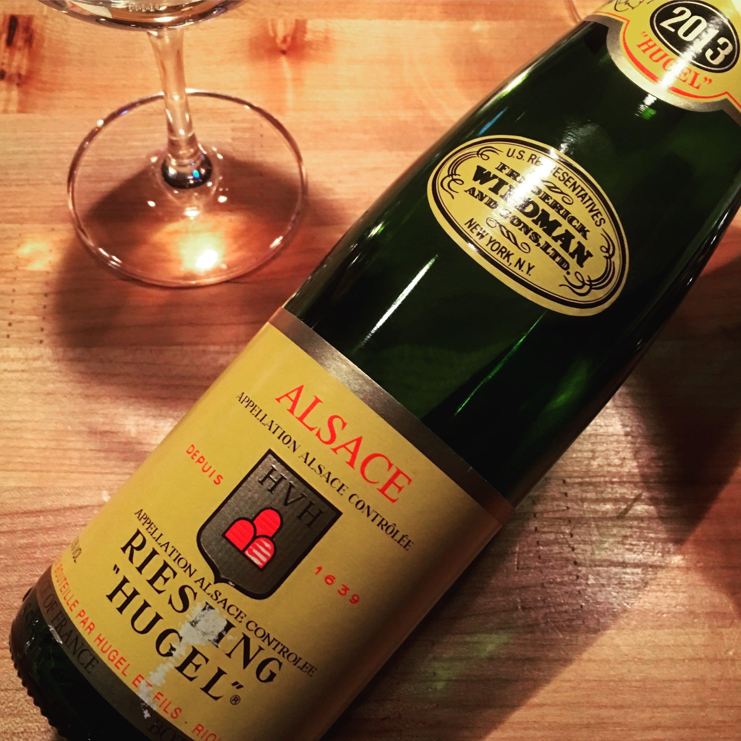 Hugel Riesling Alsace 2013