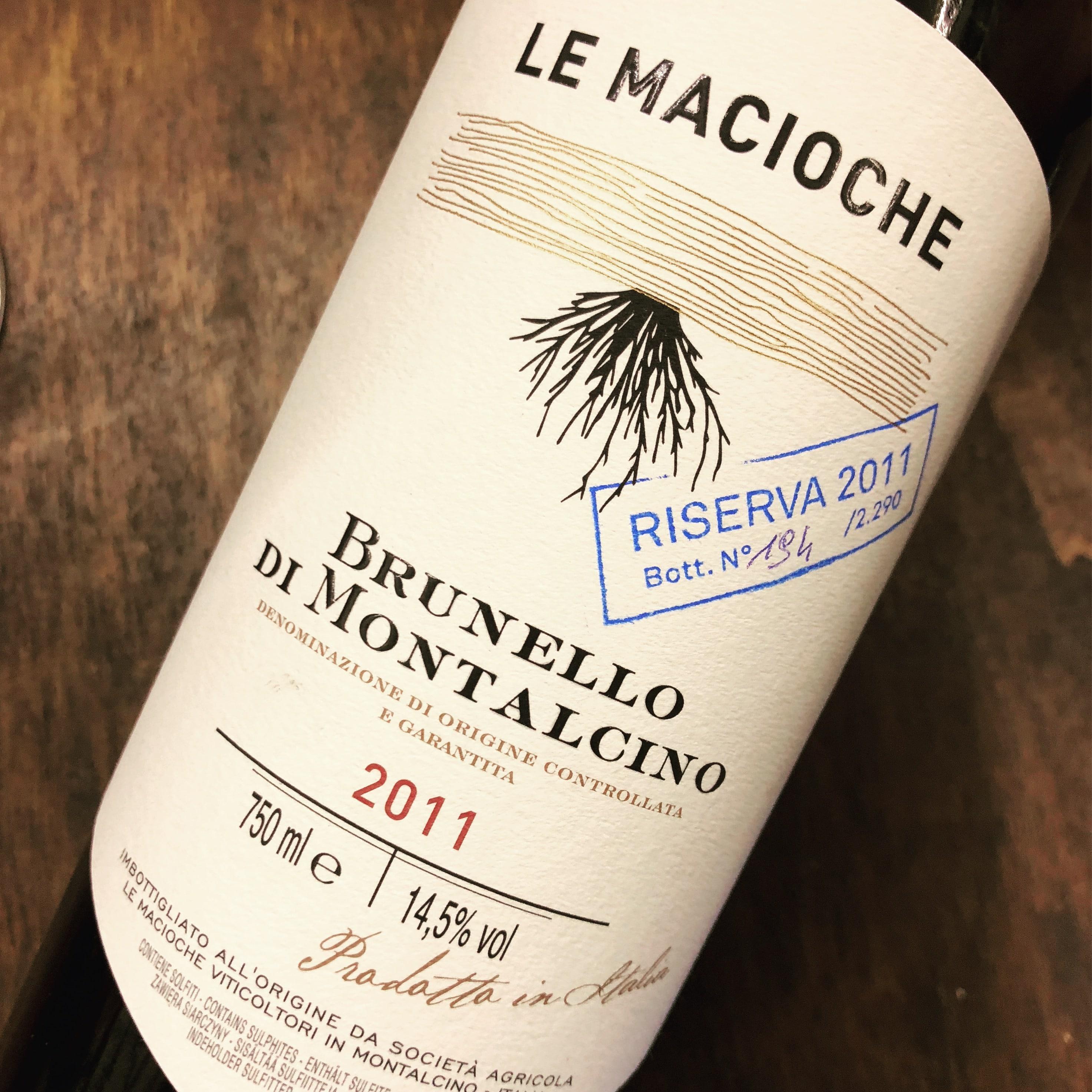 Palazzina Le Macioche Brunello di Montalcino Riserva Le Macioche 2011