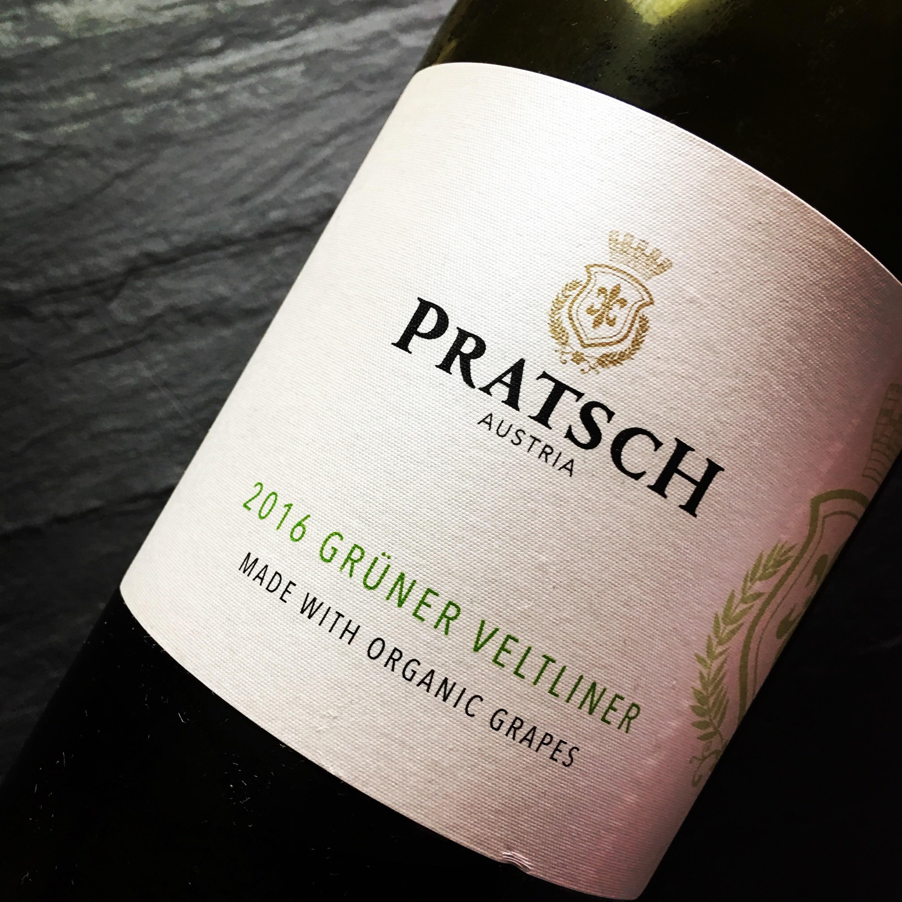 Biohof Pratsch Grüner Veltliner 2016
