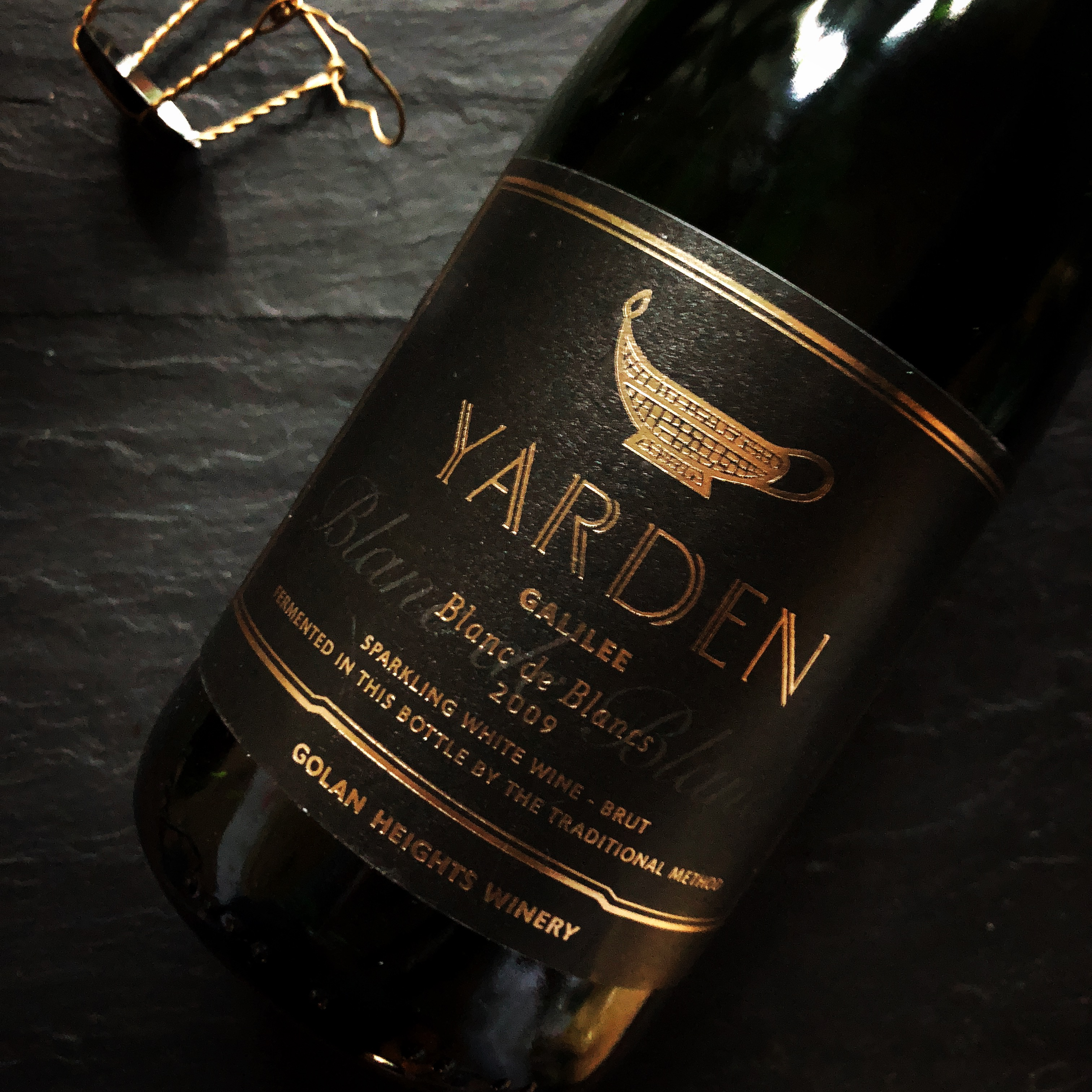 Golan Heights Winery Yarden Blanc de Blancs 2009