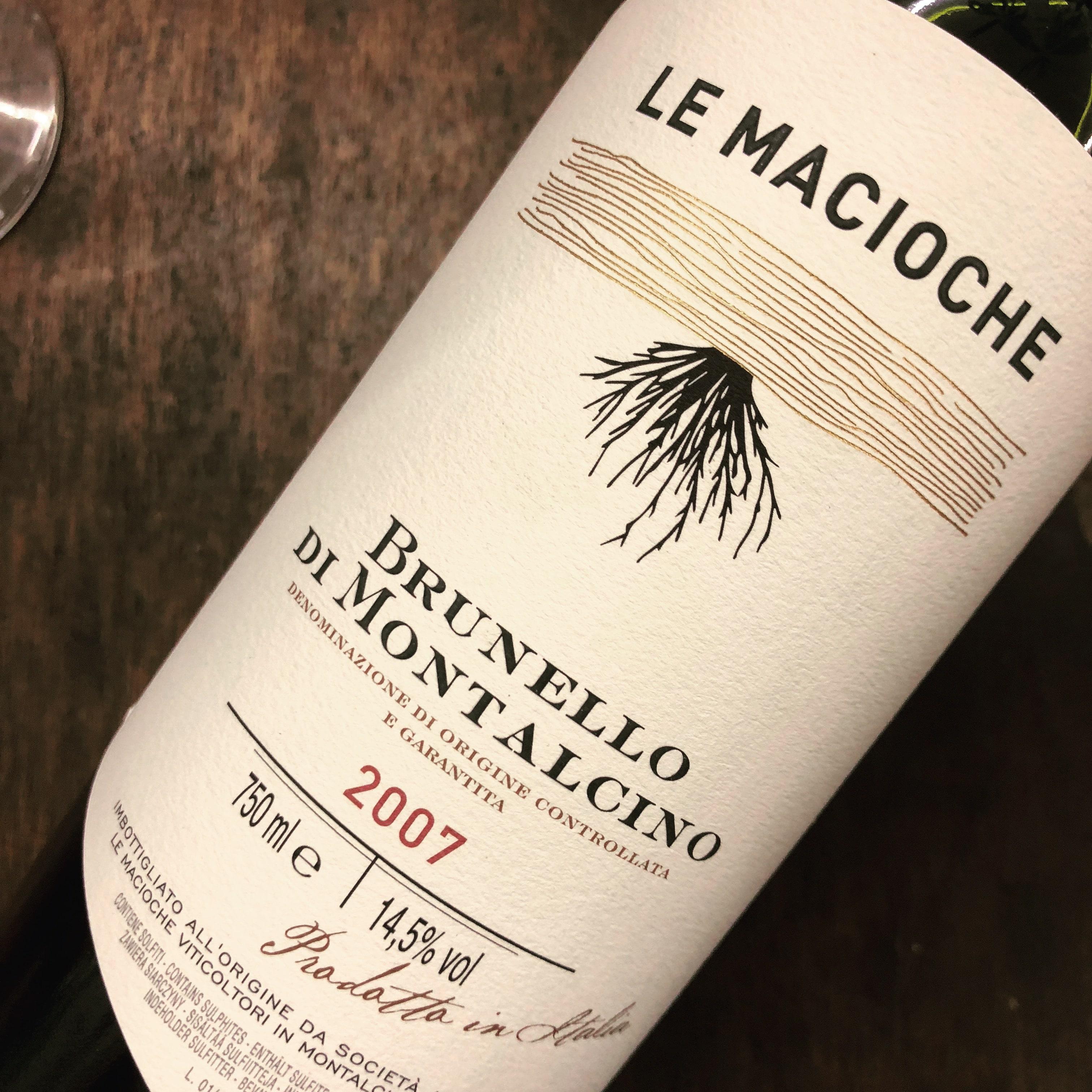Palazzina Le Macioche Brunello di Montalcino Riserva Le Macioche 2007