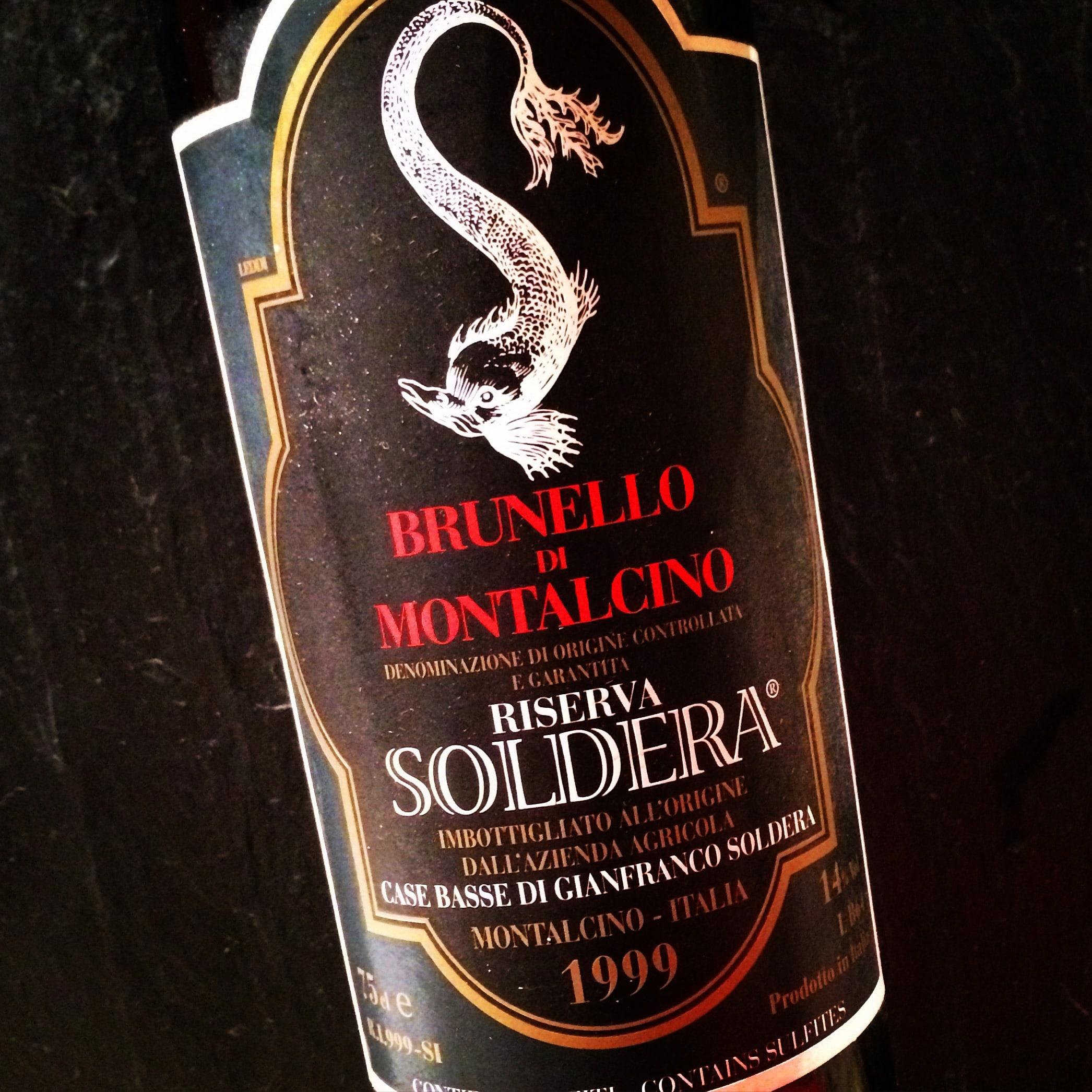 Gianfranco Soldera Brunello di Montalcino Riserva 1999