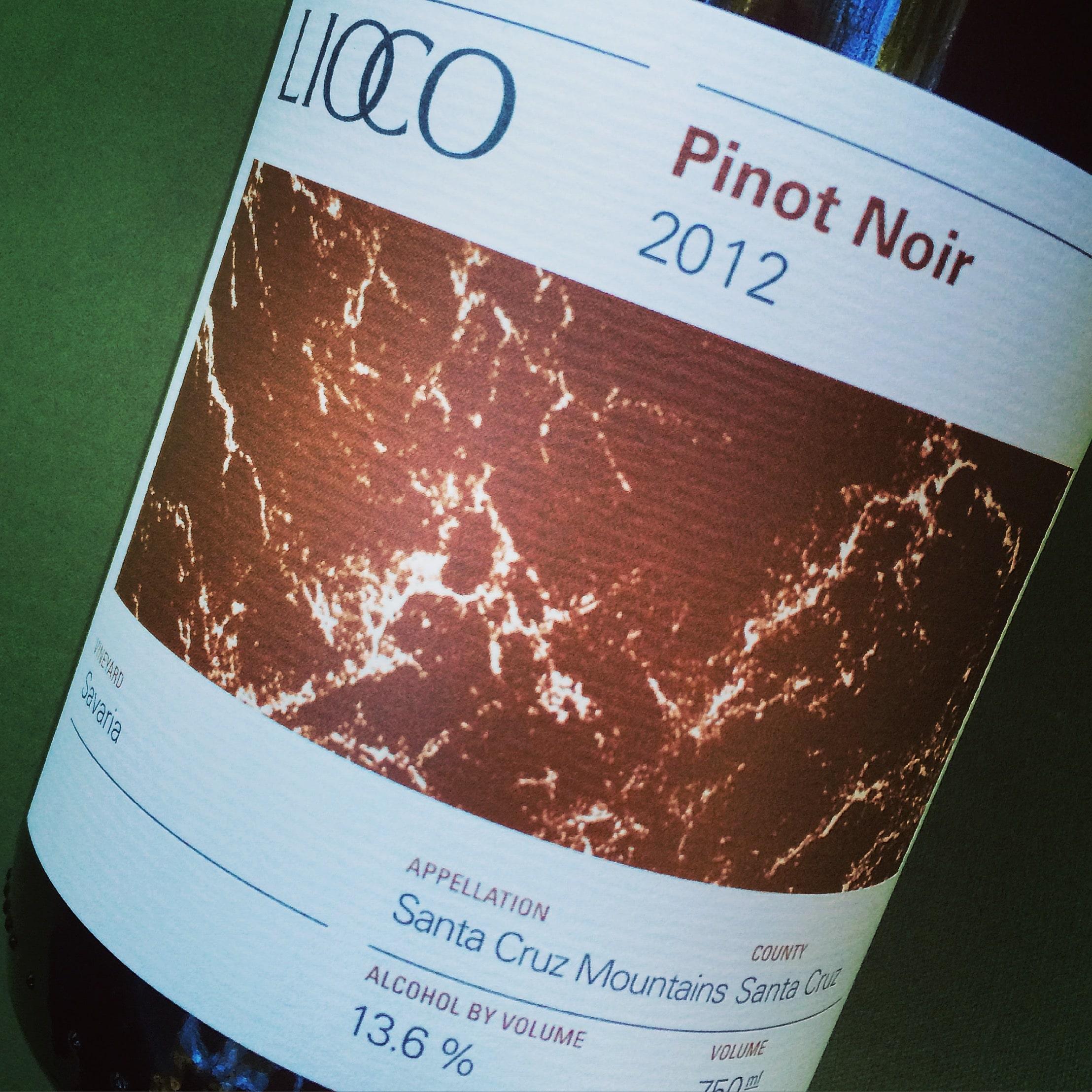 Lioco Savaria Vineyard Pinot Noir 2012