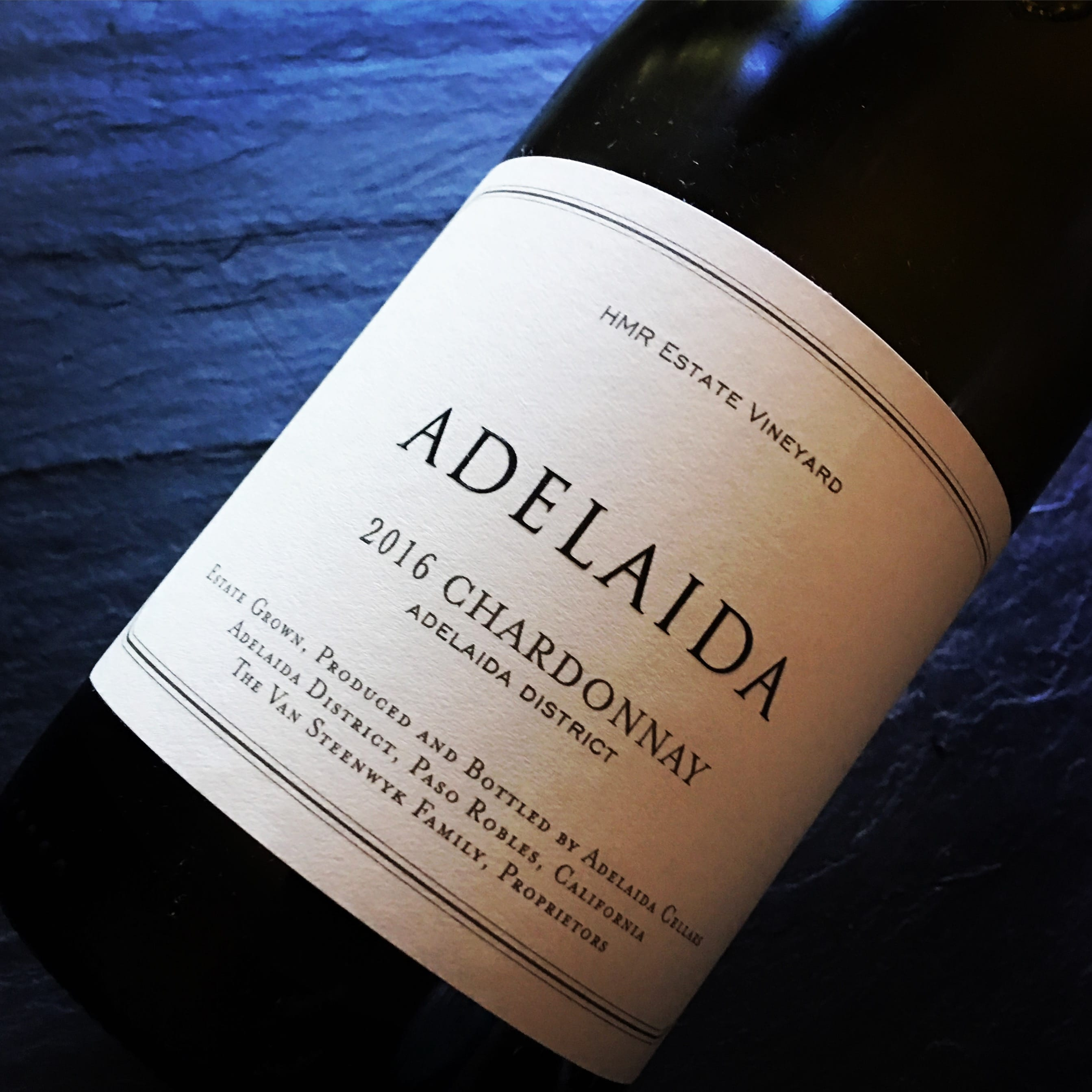 Adelaida Cellars HMR Estate Vineyard Chardonnay 2016