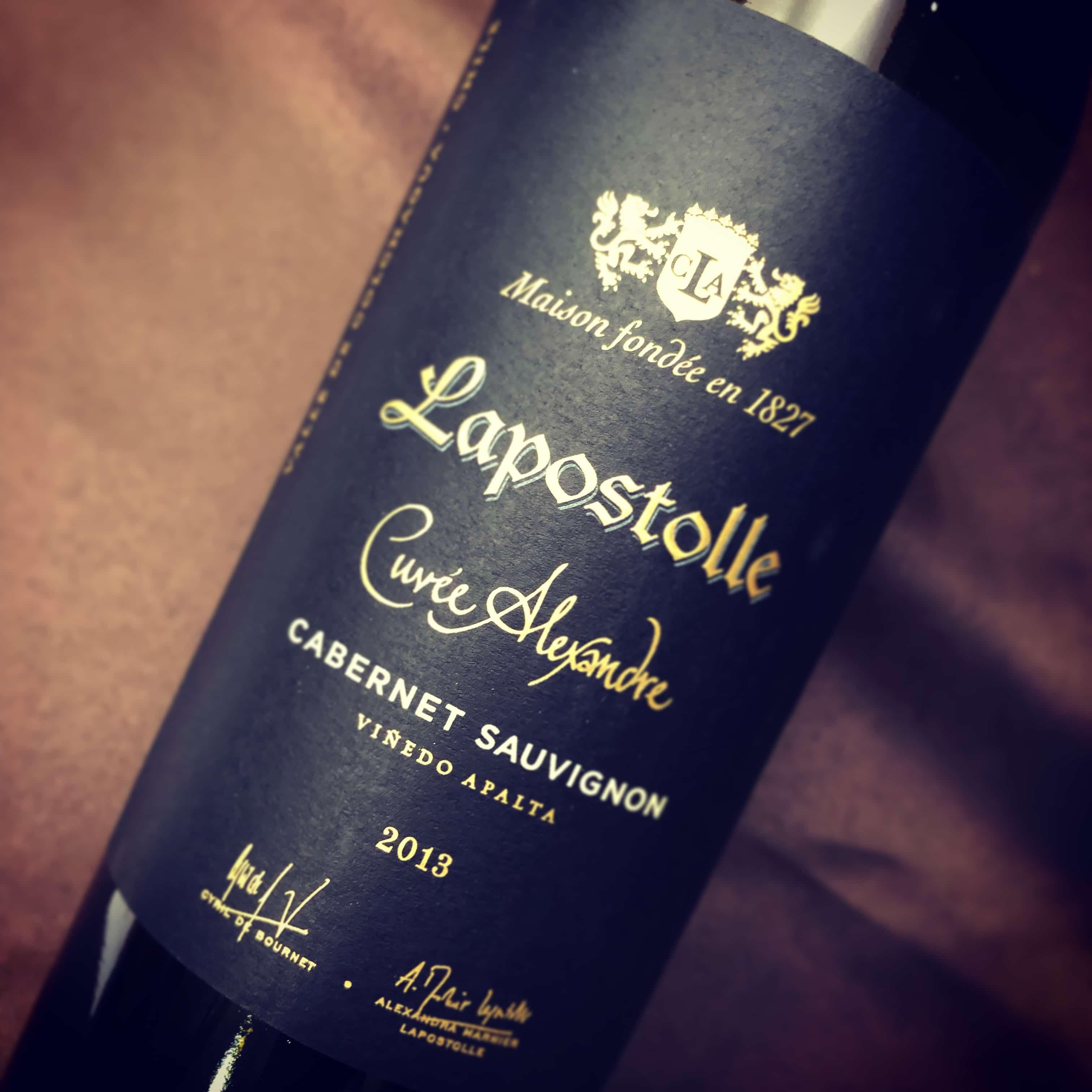 Lapostolle Cuvée Alexandre Apalta Vineyard Cabernet Sauvignon 2013