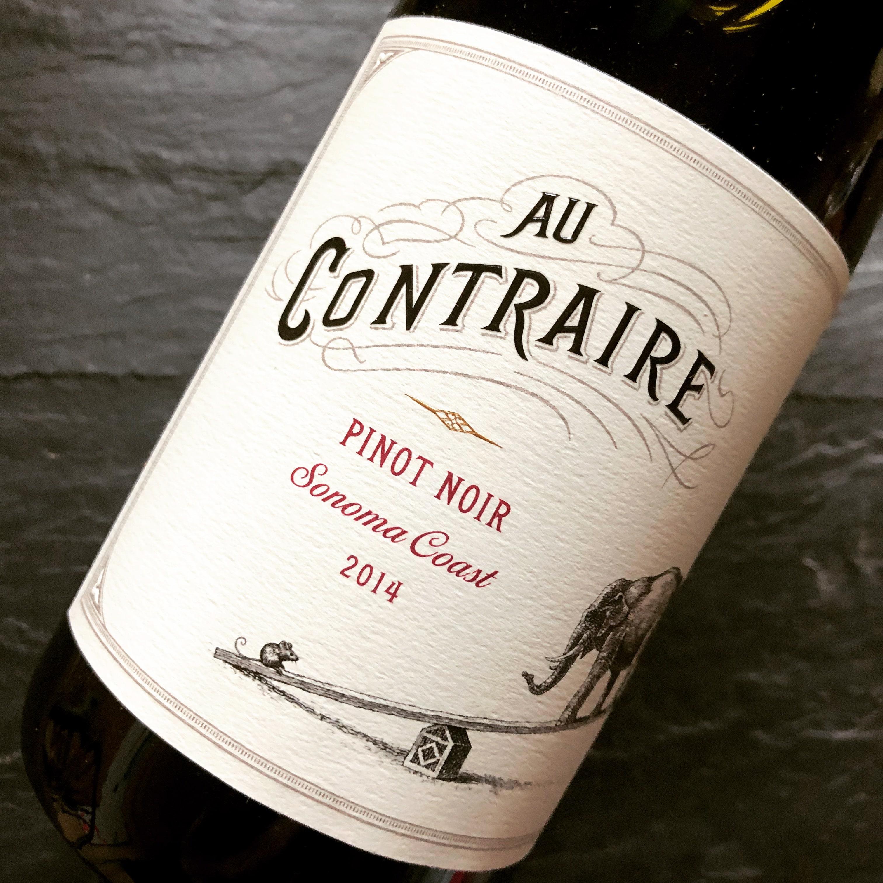 Au Contraire Pinot Noir 2014