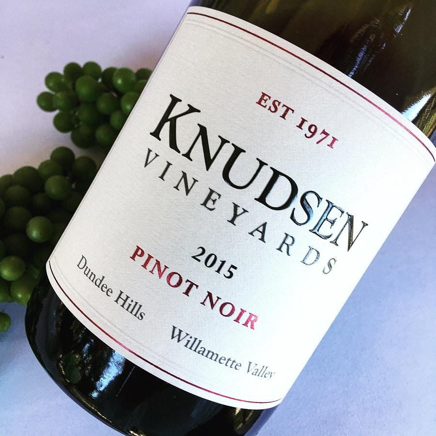 Knudsen Vineyards Pinot Noir 2015