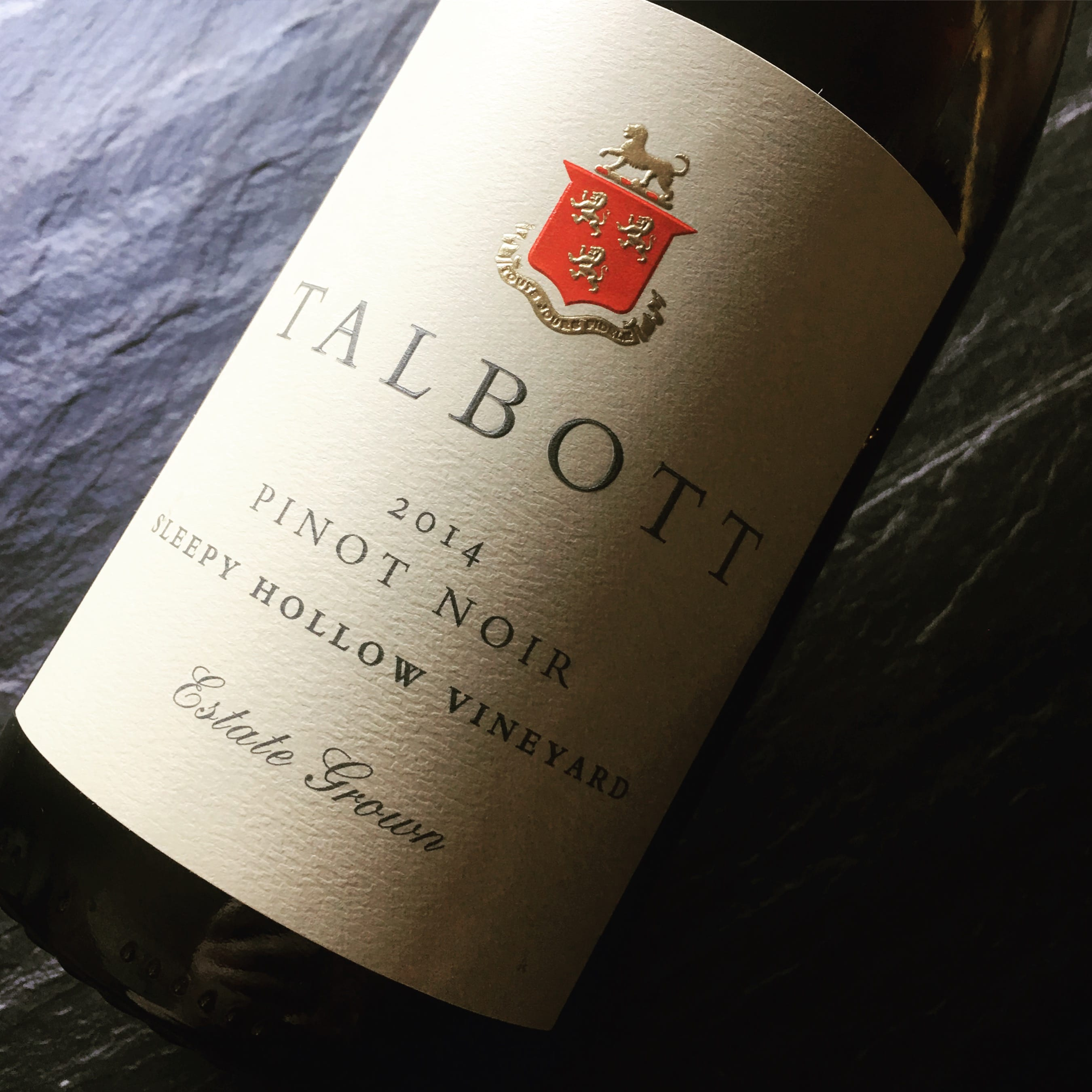 Robert Talbott Sleepy Hollow Vineyard Pinot Noir 2014