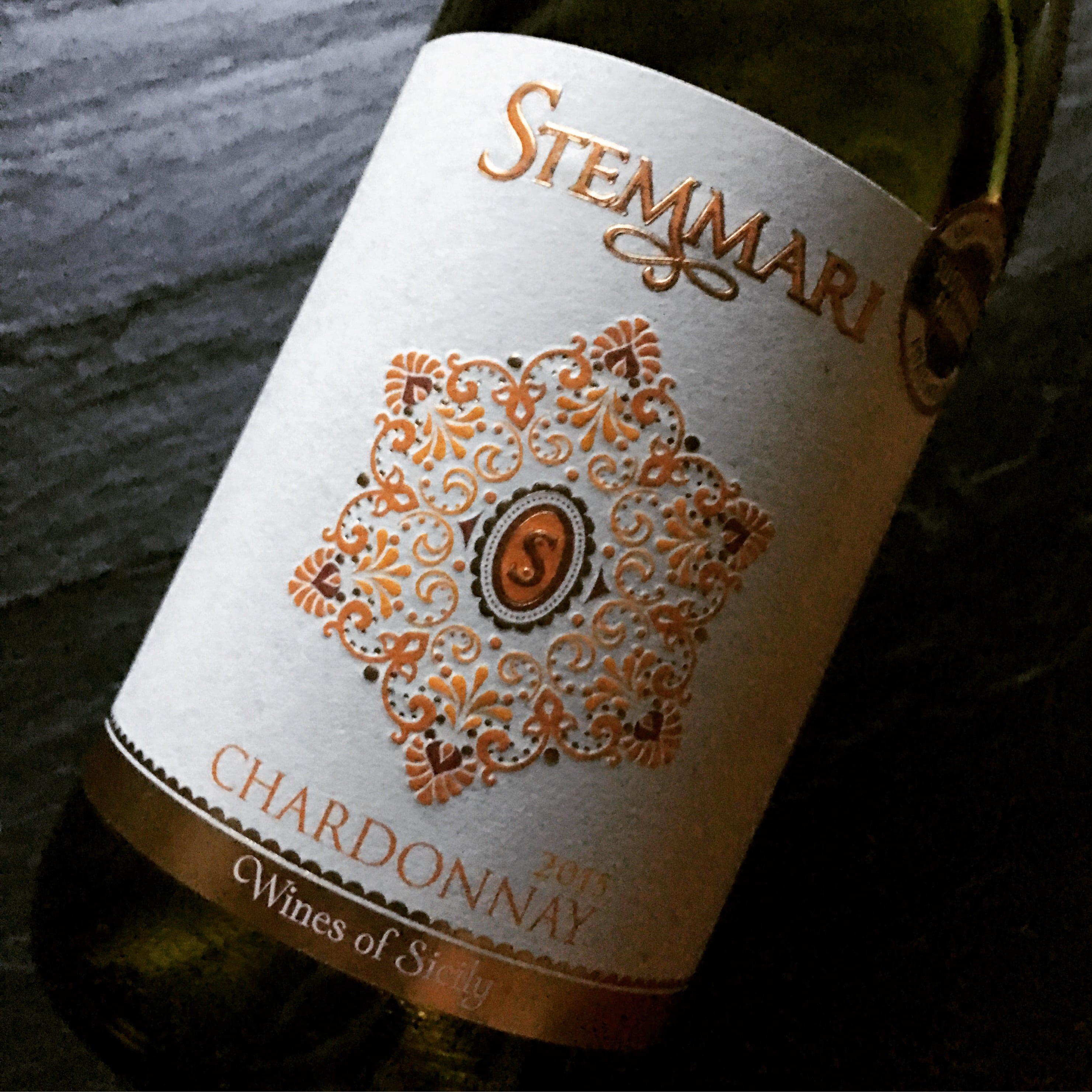 Feudo Arancio Chardonnay Sicilia Stemmari 2013