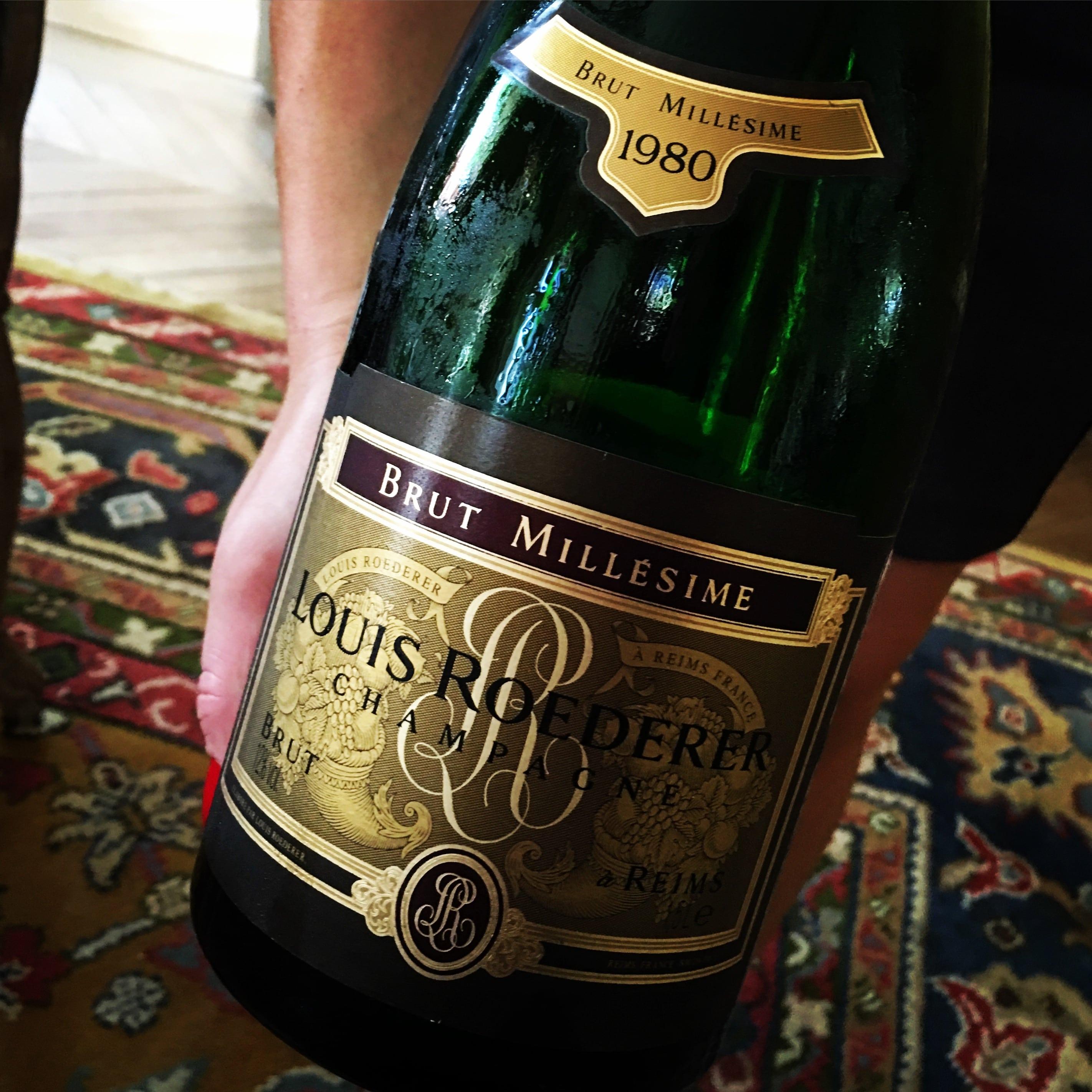 Louis Roederer Champagne Brut Millésimé 1980