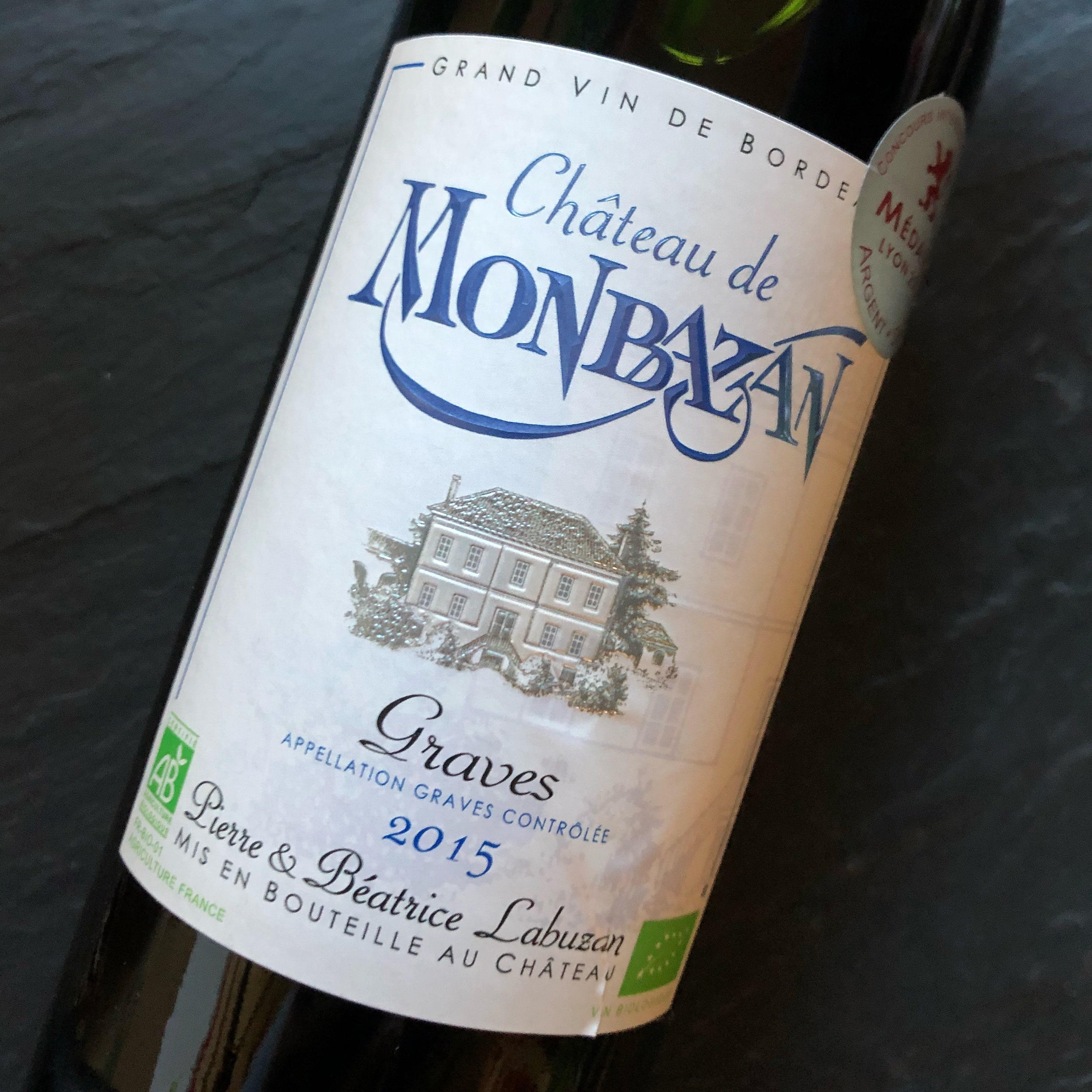 Château de Monbazan Grand Vin de Graves 2015