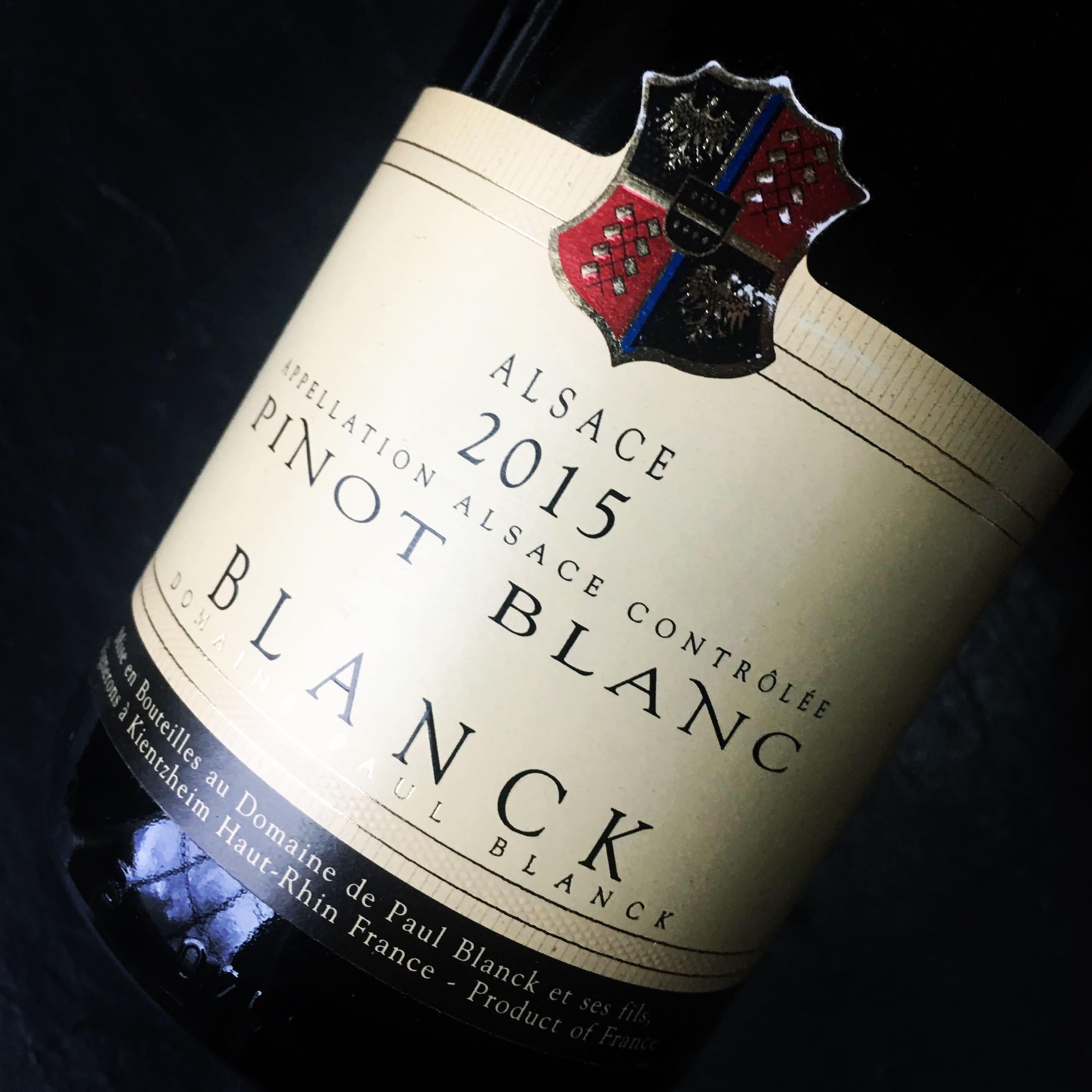 Paul Blanck Pinot Blanc Alsace 2015