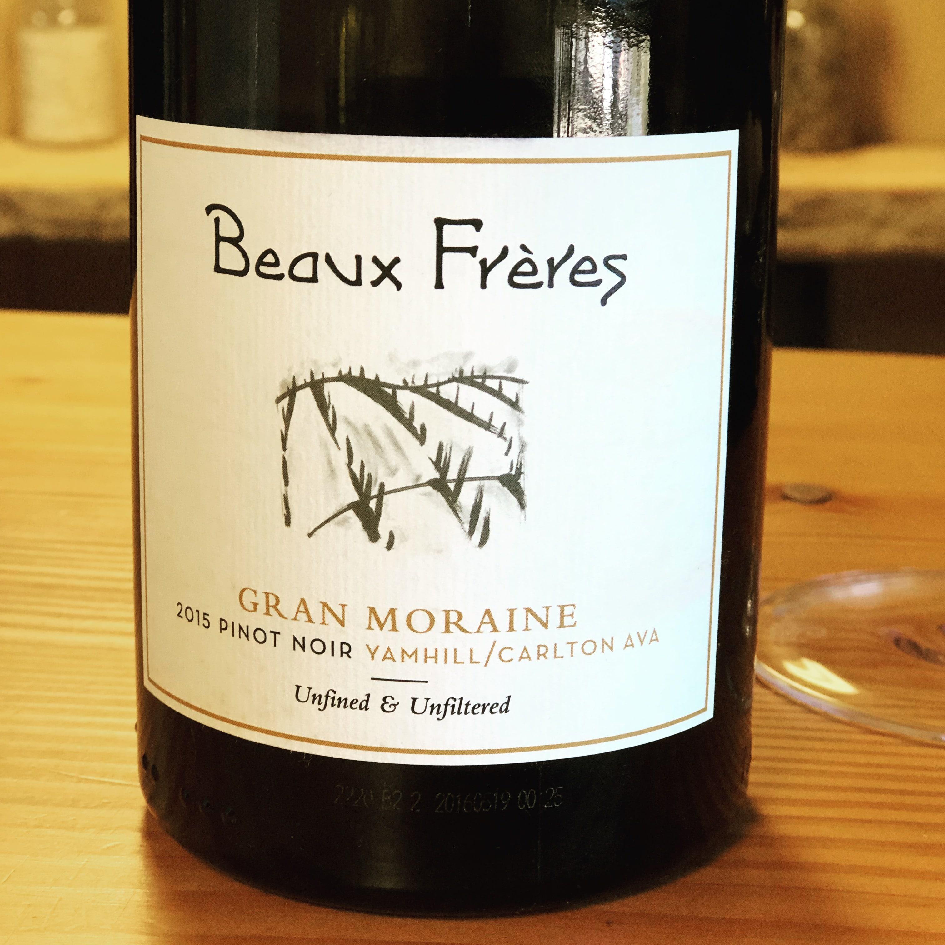 Beaux Frères Gran Moraine Pinot Noir 2015